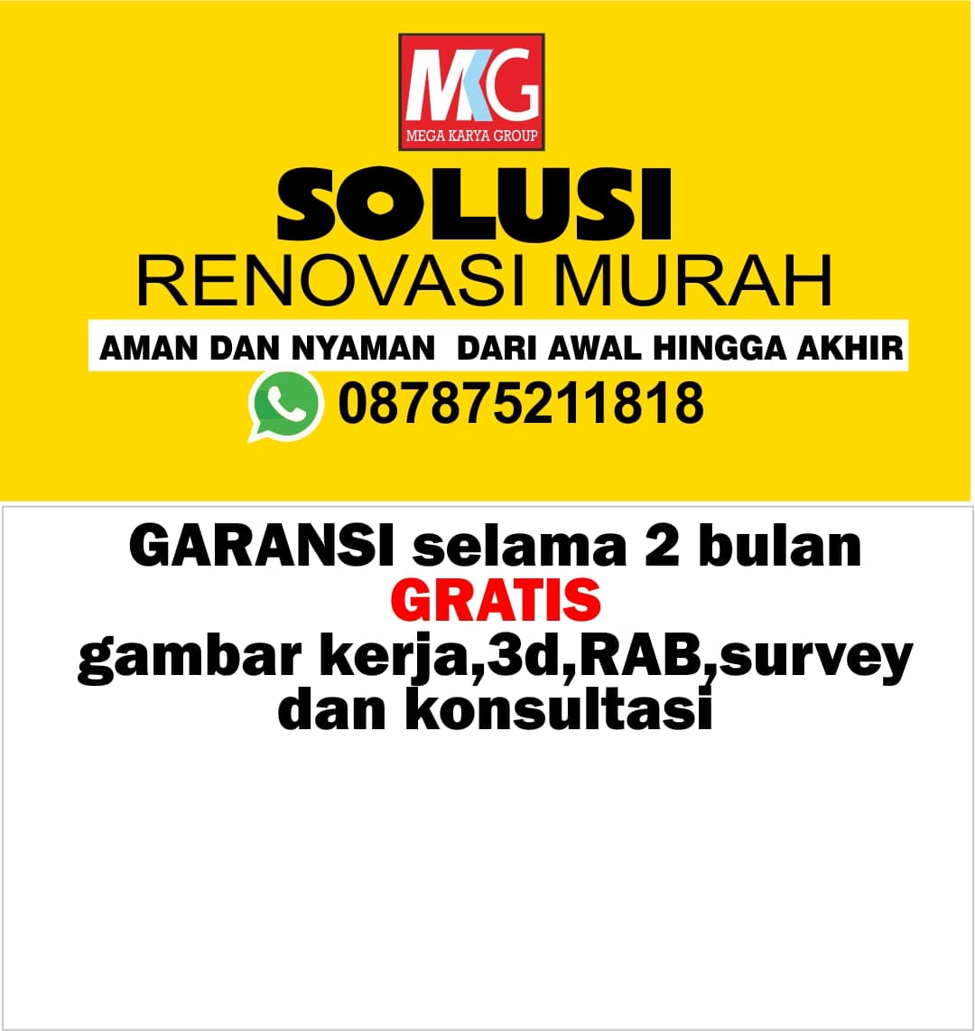 Renovasi In English Ter Murah Harga Paling Murah